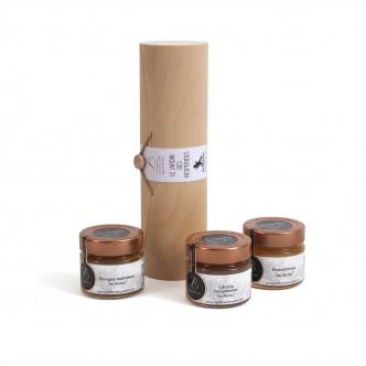 Coffret de trois confitures d'agrumes, cuites au chaudron Bruneton meilleur confiturier de France