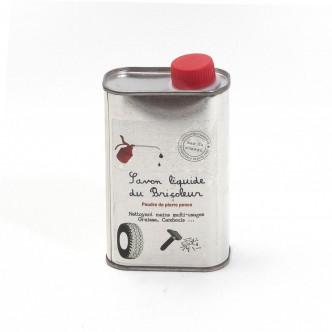 Savon liquide à base d'huile d'olive et de poudre de pierre-ponce