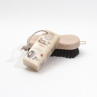 Savon solide au savon noir et brosse multi-usages le Mas du Roseau en Provence