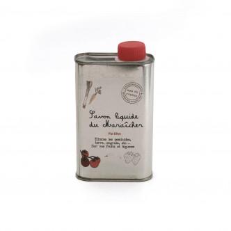 Savon liquide de Marseille pur olive pour nettoyer fruits et légumes