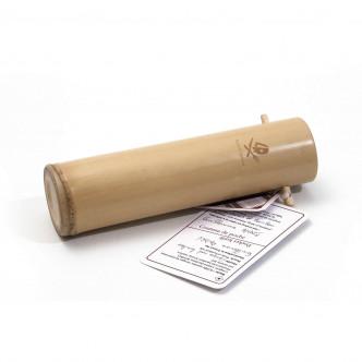 Boîte en bambou pour le couteau de poche Why so serious ?
