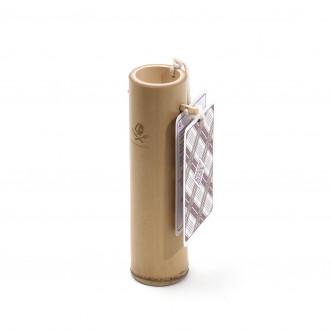 Coffret cadeau en bambou pour couteau pliant haute qualité.