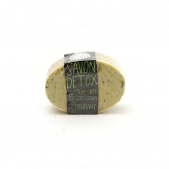 Savon détoxifiant thé vert citron