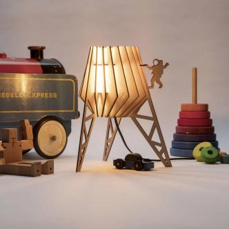 Idéal chambre d'enfant, kit pour transformer a lampe mini spot-nik
