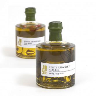 Huile d'olive vierge extra aromatisée piment ou romarin par José Gourmet