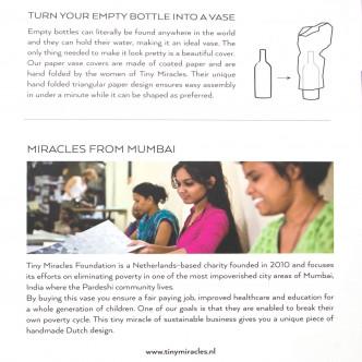 Soutenez les femmes Pardeshi de Mumbai en achetant un vase Tiny Miracle