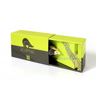 Boîte cadeau en carton recyclé pour offrir Kipik