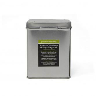 Boîte métal 100 g infusion fruitée à base de rooibos