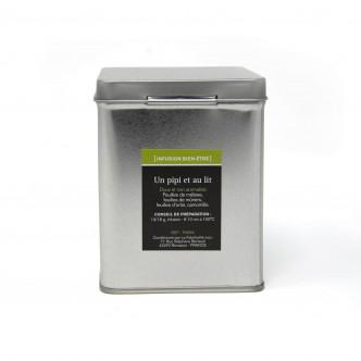Boîte métal infusion 50 g, plantes issues de l'agriculture biologique