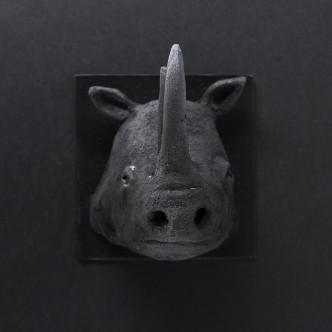 Céramique noire, art brut, sculpture animalière