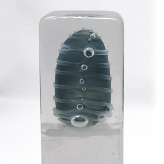 Sculpture en verre soufflé, œuvre unique par Lise Gonthier