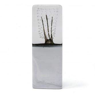Sculpture en verre, pièce unique n°10. Lise Gonthier, artisan d'art.
