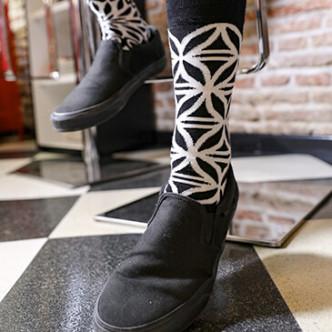 Des chaussettes de caractère par Oybo