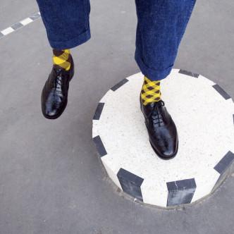 Des chaussettes fun par Oybo