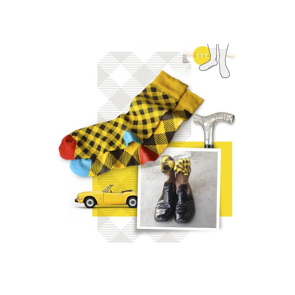 Chaussettes dépareillées par Oybo