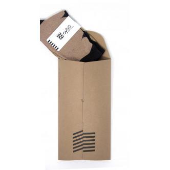 Offrez des chaussettes Oybo dans leur jolie pochette en carton recyclé