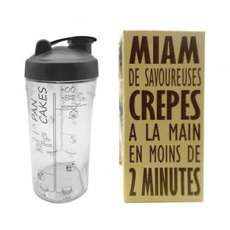 MIAM - Shaker à crêpes et pancakes par Cookut