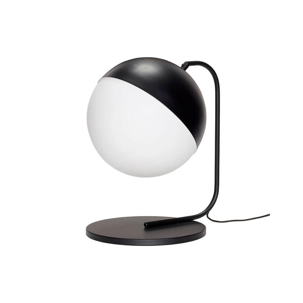 Lampe boule à poser en métal et verre par Hübsch