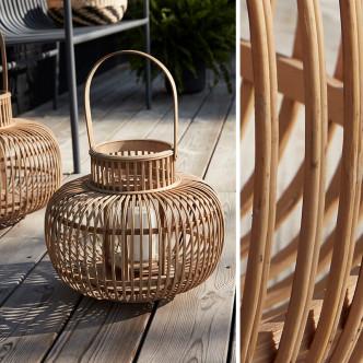 Déco nature avec ces magnifiques lanternes en bambou