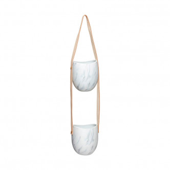 BABY B-LONE : Cache-pot double pour mini-jardins suspendus
