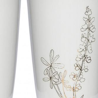 Détail dessin floral doré