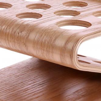 Bois de saule courbén belle finition pour ce support à pinceaux