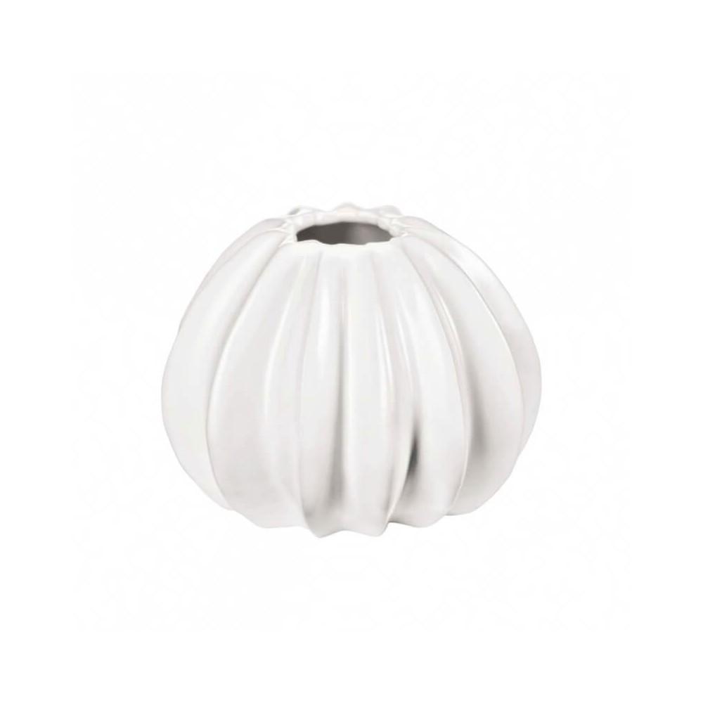 Vase San Pedro 14 cm en céramique blanche forme cactus  ASA Home