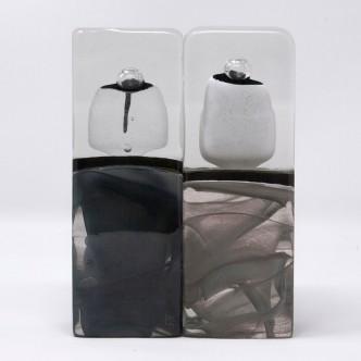 Sculptures verre. Pièces uniques.