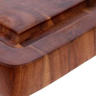 Planche à découper en bois d'acacia