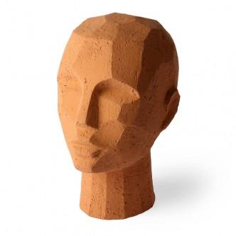 Sculpture tête abstraite