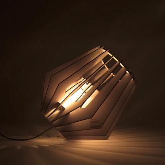 Spot-nik, lampe de sol en kit, bel éclairage