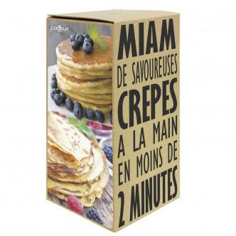Packaging sympa, MIAM Shaker à crêpes et pancakes