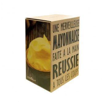 Packaging soigné du Mayozen par Cookut