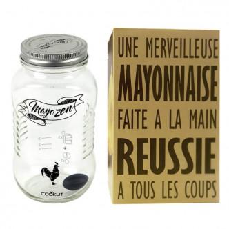 Shaker à mayonnaise par Cookut. Délicieuse mayo