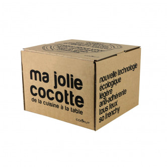 Packaging ma jolie cocotte de Cookut