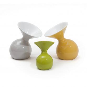 Vases Lulu gris vert et jaune par ASA Home