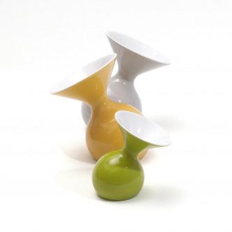 Lulu : 3 vases céramique à poser ou à suspendre