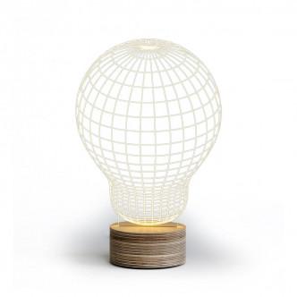 Veilleuse à LED effet 3D Bulbing original