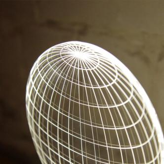 Lampe veilleuse Led effet 3D Cheha Design