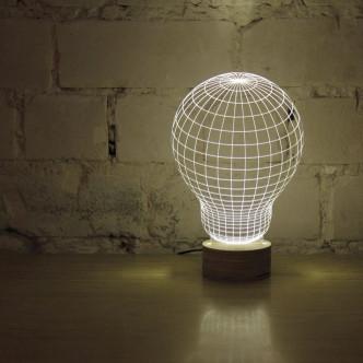 Bel effet ampoule 3D Bukbing original par Cheha