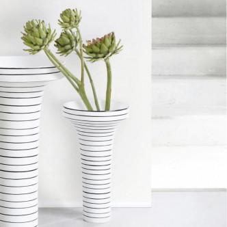 Grand vase en céramique 50 cm de haut, Masango est peint à la main