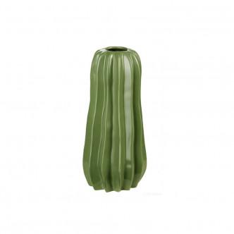 Vase forme cactus céramique vert, hauteur 24 cm par ASA Home