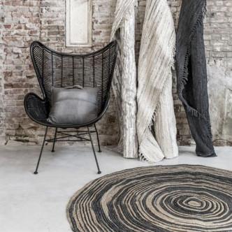 Déco naturelle avec Kaa tapis en jute fait main