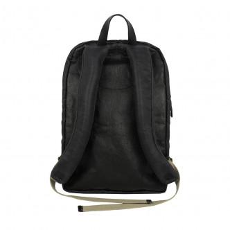 Pratique et léger sac à dos en papier enduit doublé coton, dos renforcé, Ushmama