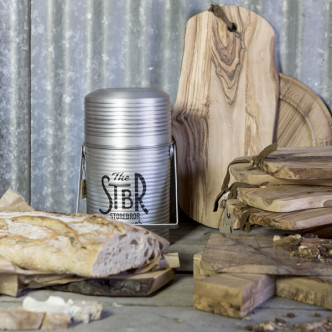 Déco vintage toughlife avec ce pot en aluminium imprimé Storebror explorers