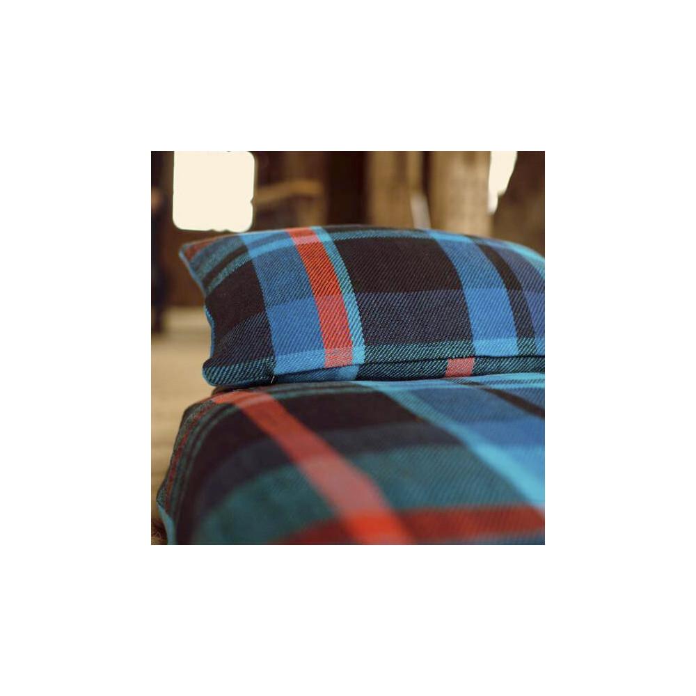 Coussin 40 X60 cm très doux en tartan de coton motif écossais par STBR