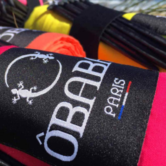Drap de plage 100% coton OBABA marque française