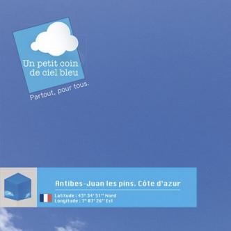 Un petit coin de ciel bleu Antibes Juan Les Pins