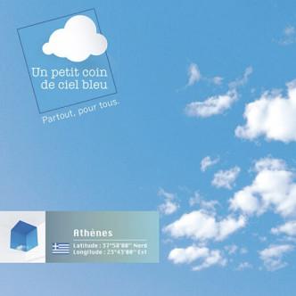 Un petit coin de ciel bleu Athènes