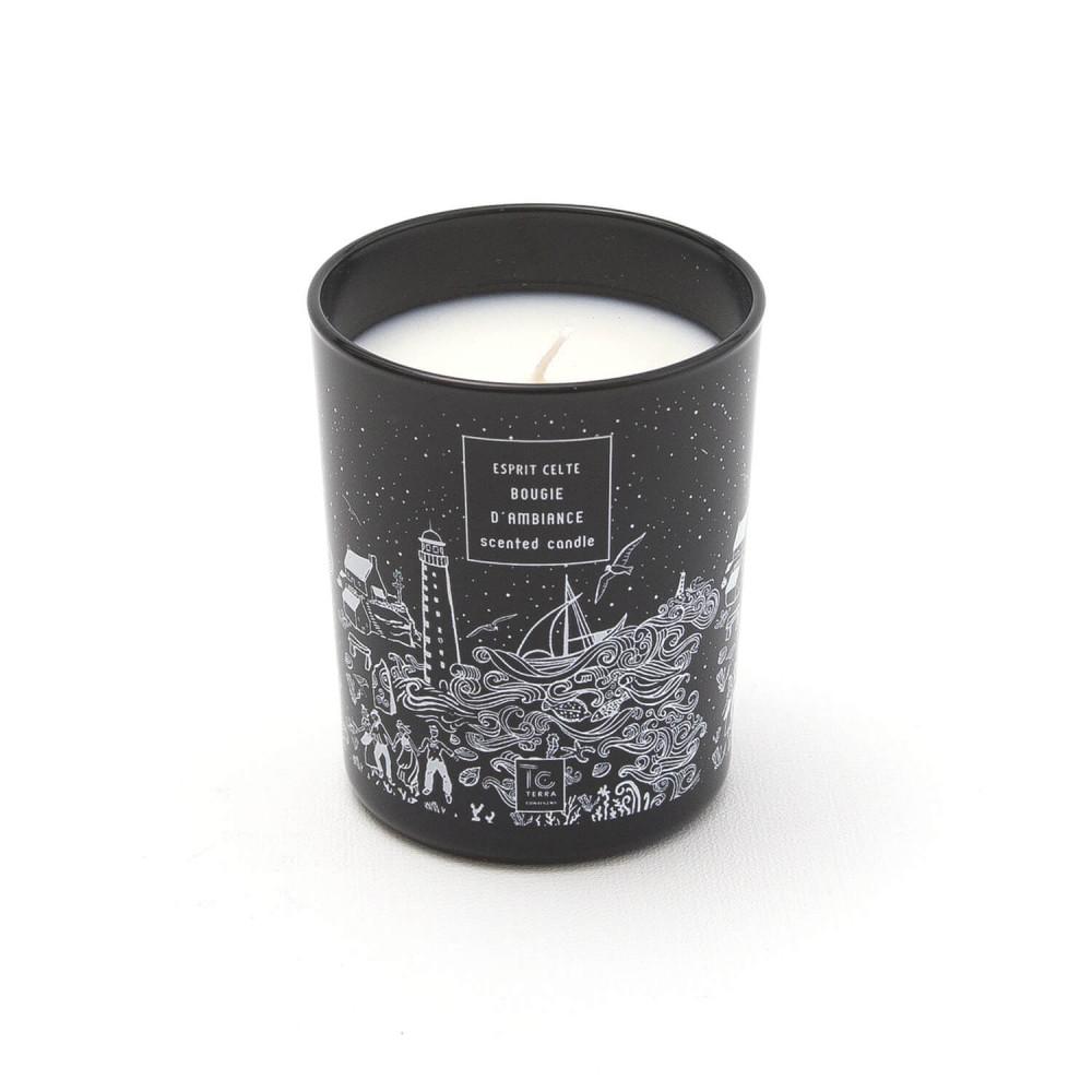 Bougie parfumée pour la maison Esprit Celte par Terra Continens
